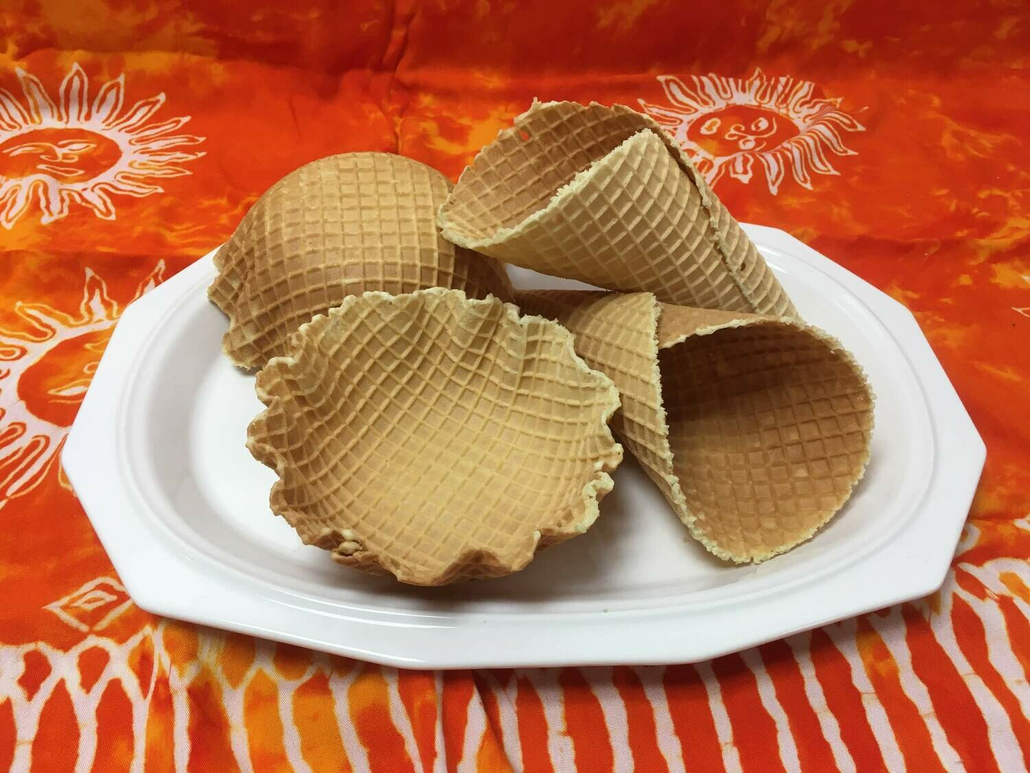 Waffle Cones and Bowls