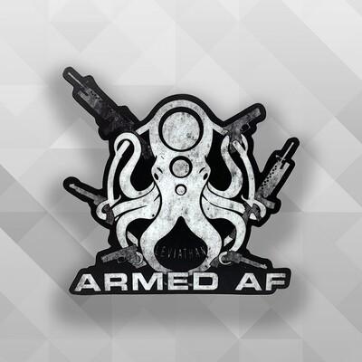 Armed AF Leviathan Sticker