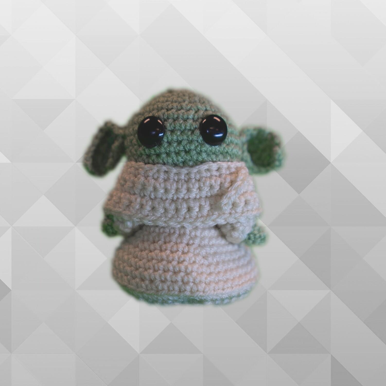 Hand Made Baby Yoda