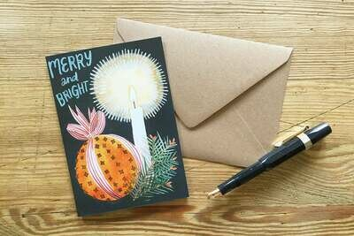 Eleanor Percival Bespoke Card & Gift Message (Merry & Bright)