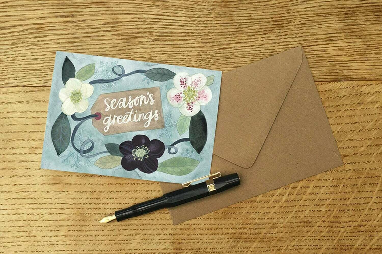 Eleanor Percival Bespoke Card & Gift Message (Seasons Greetings)