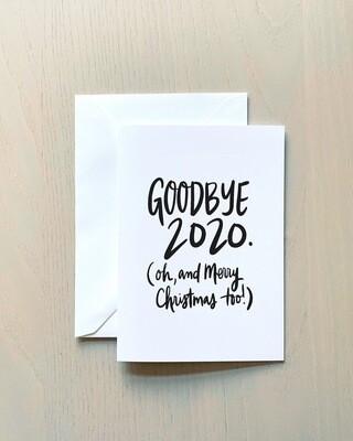Tammijean Triplett Hand lettered 2020 Card (individual)