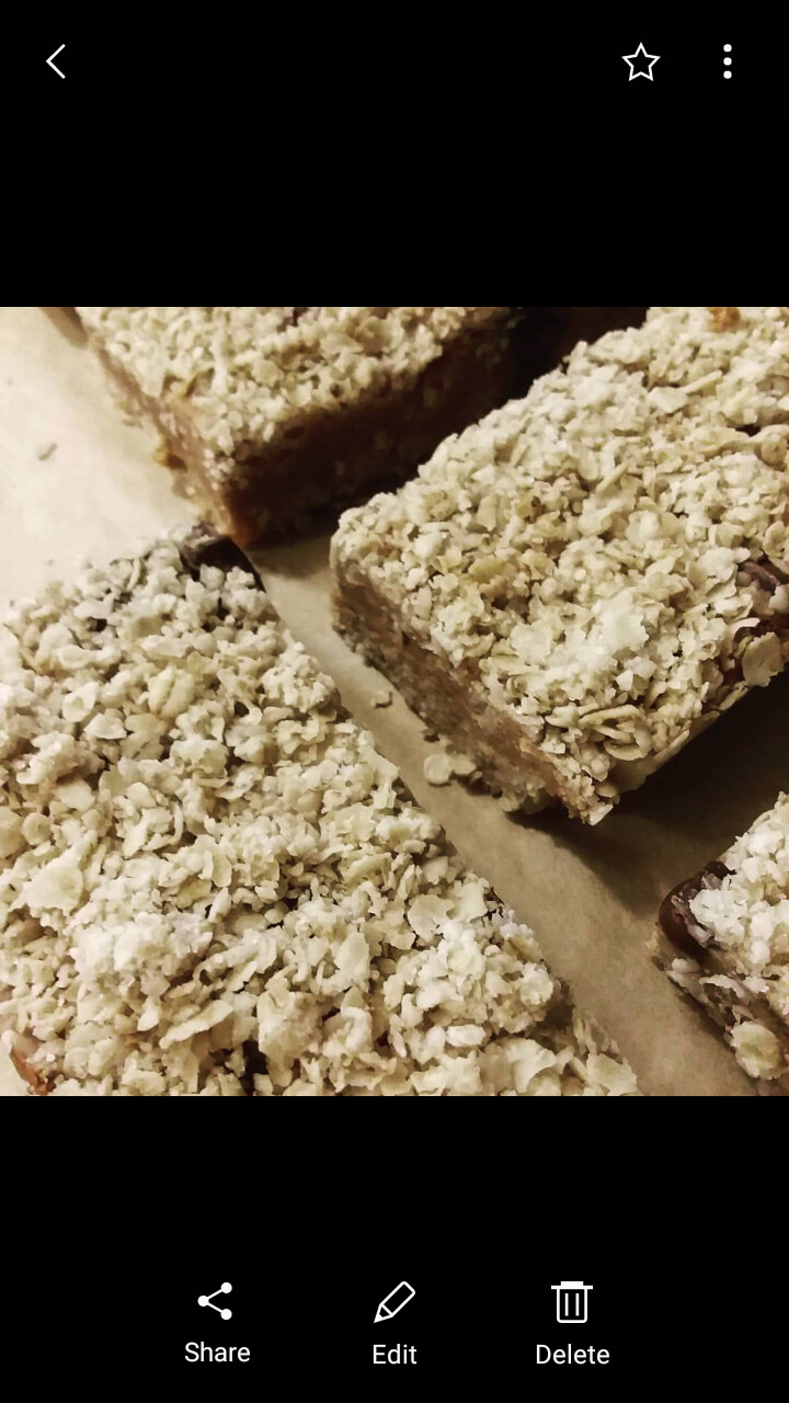 Peanut Butter Chocolate Oatbars 2 pack-GF-V
