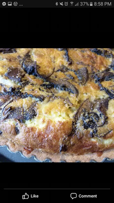 Mini-Quiche: Roasted Mushroom NY White Cheddar & Herbs, 6 inch