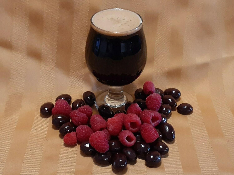 Chocolate Raspberry Stout (64oz)