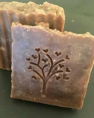 Chocolate and Amber Goat Milk Thin Bars