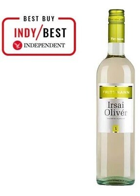 Irsai Oliver DECANTER 91 points Oz Clarke 'Juicy glugger'