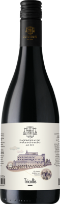 Tricollis Red 2019, Arch Abbey 75cl ABV:14.49% MELLOW Pinot blend