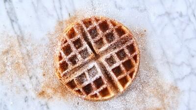 Cinnamon & Powdered Sugar Waffle