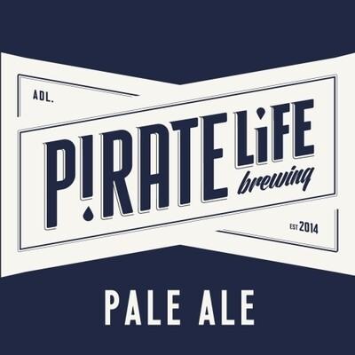 1Ltr Pirate Life Pale Ale - Draught - SA 5.4%