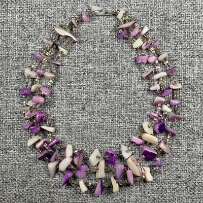 A Two Level Tale Necklace