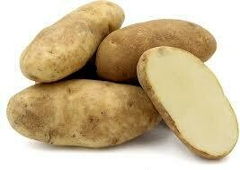 Potatoes Bakers Russett - 20 per bag Approx 5 Kg