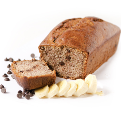 Vegan Banana Chocolate Chip Loaf