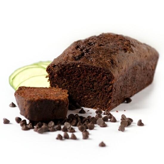 Vegan Chocolate Zuchini Loaf