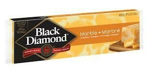 Black Diamond Marble Cheese Bar - 400g