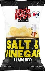 Uncle Rays Salt & Vinegar Potato Chips - 130g
