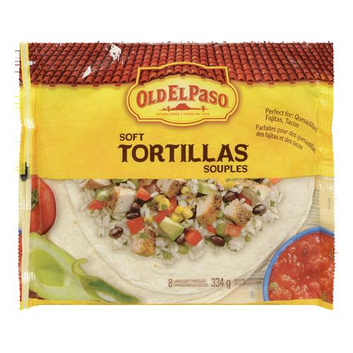 Old El Paso - Soft Tortillas Large - 334g