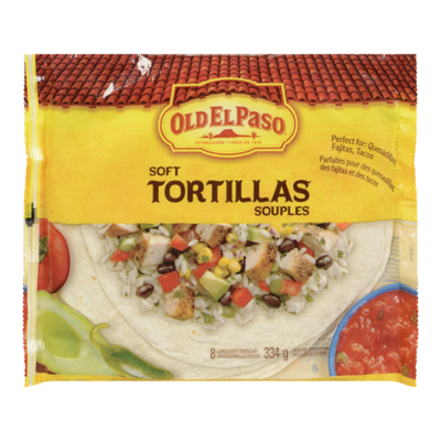 Old El Paso - Soft Tortillas Large - 334g