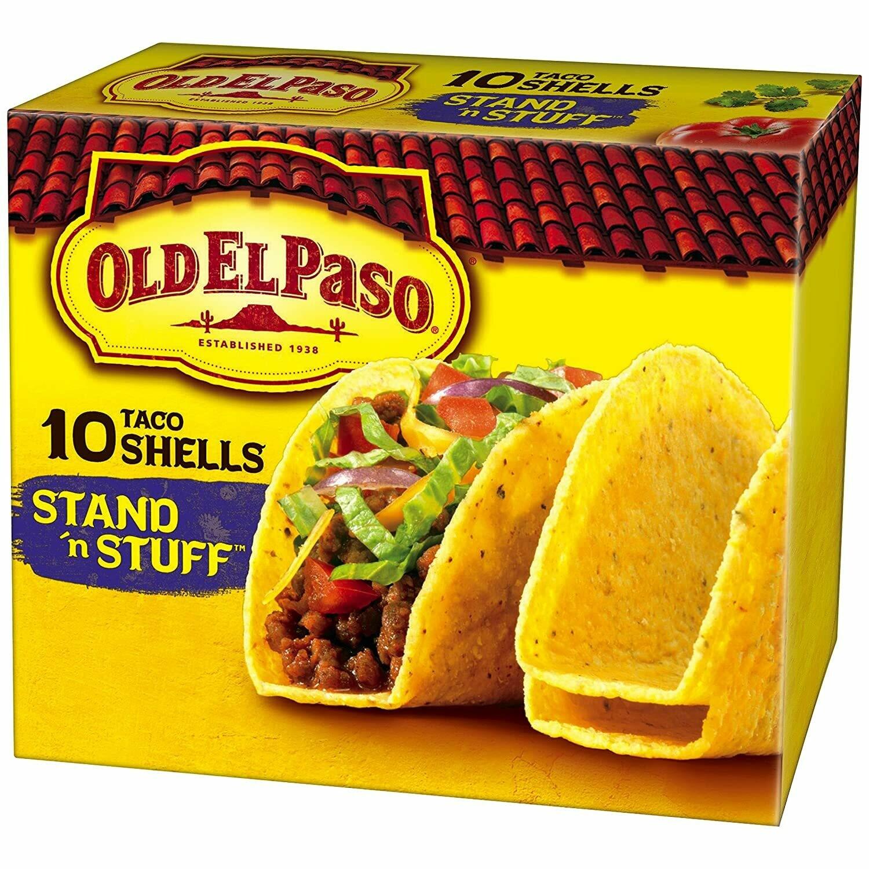 Old El Paso - Stand & Stuff Taco Shells
