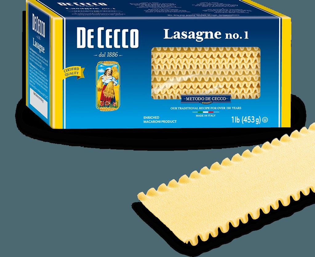Arezzio Lasagna Noodle - Oven Ready - 340g