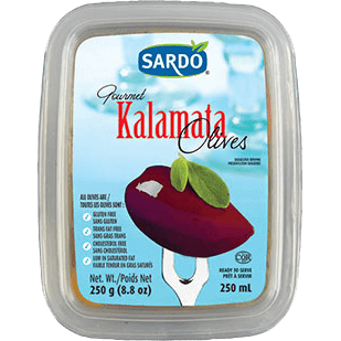 Sardo Kalamata Olives - 250 ml