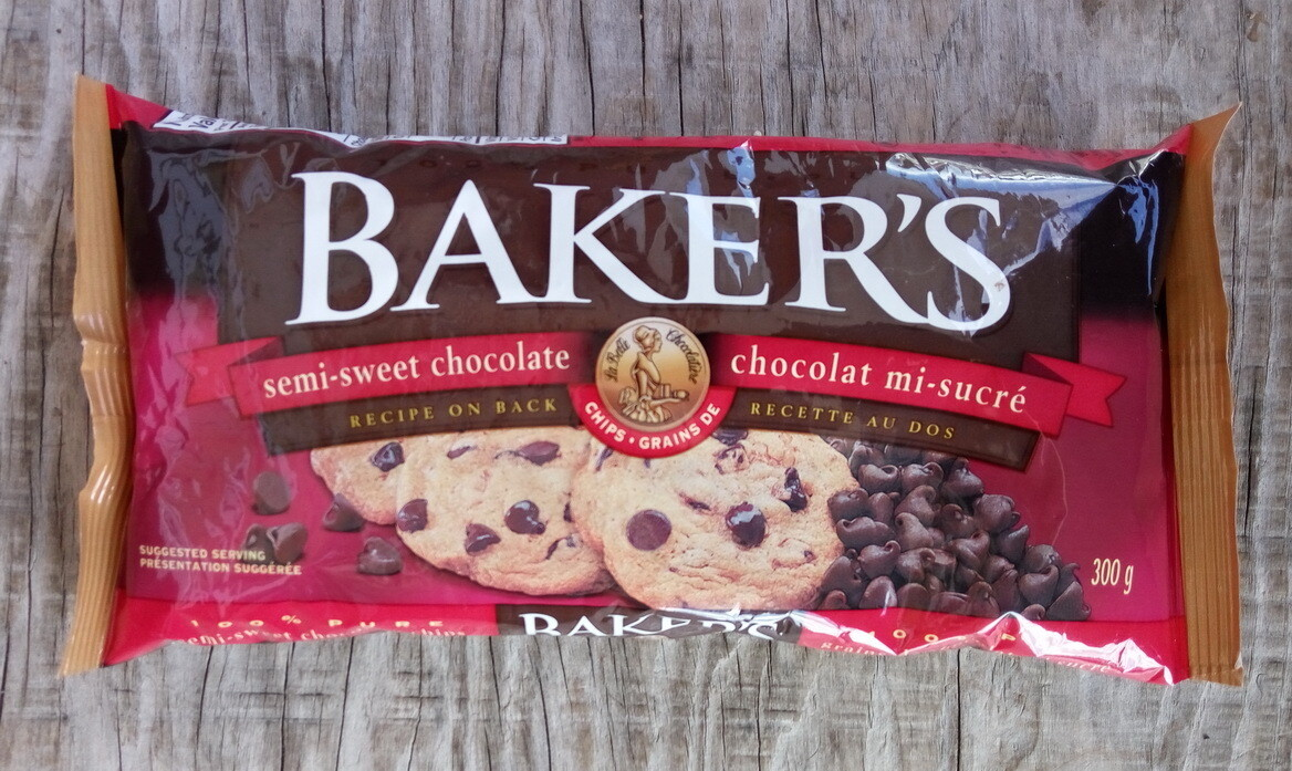 Bakers Semi-Sweet Chocolate Chips - 300g