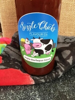 Sizzle Chicks Maple Barbecue Sauce LOCAL