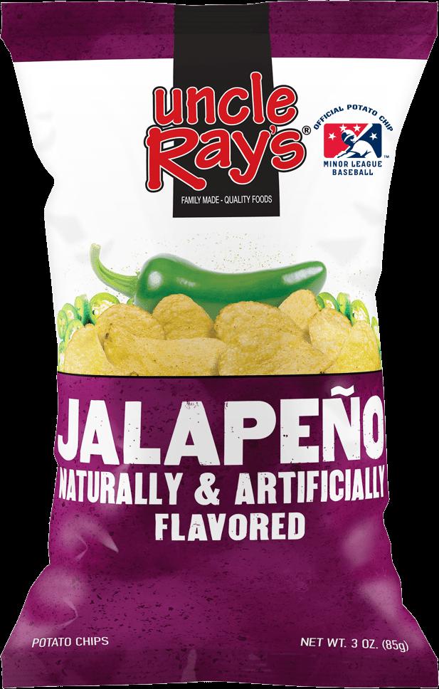 Uncle Rays Jalepeno Potato Chips - 130g