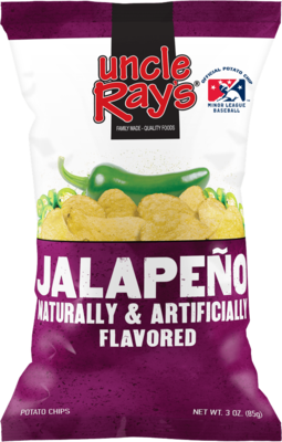 Uncle Rays Jalepeno Potato Chips - 130g