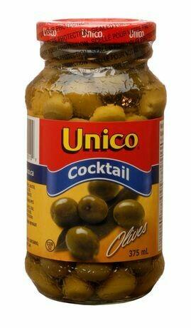 Unico Cocktail Olives - 375 ml