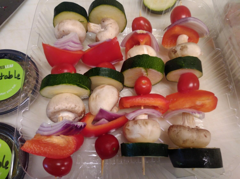 Marinated Vegetable Skewers - Pack of 4