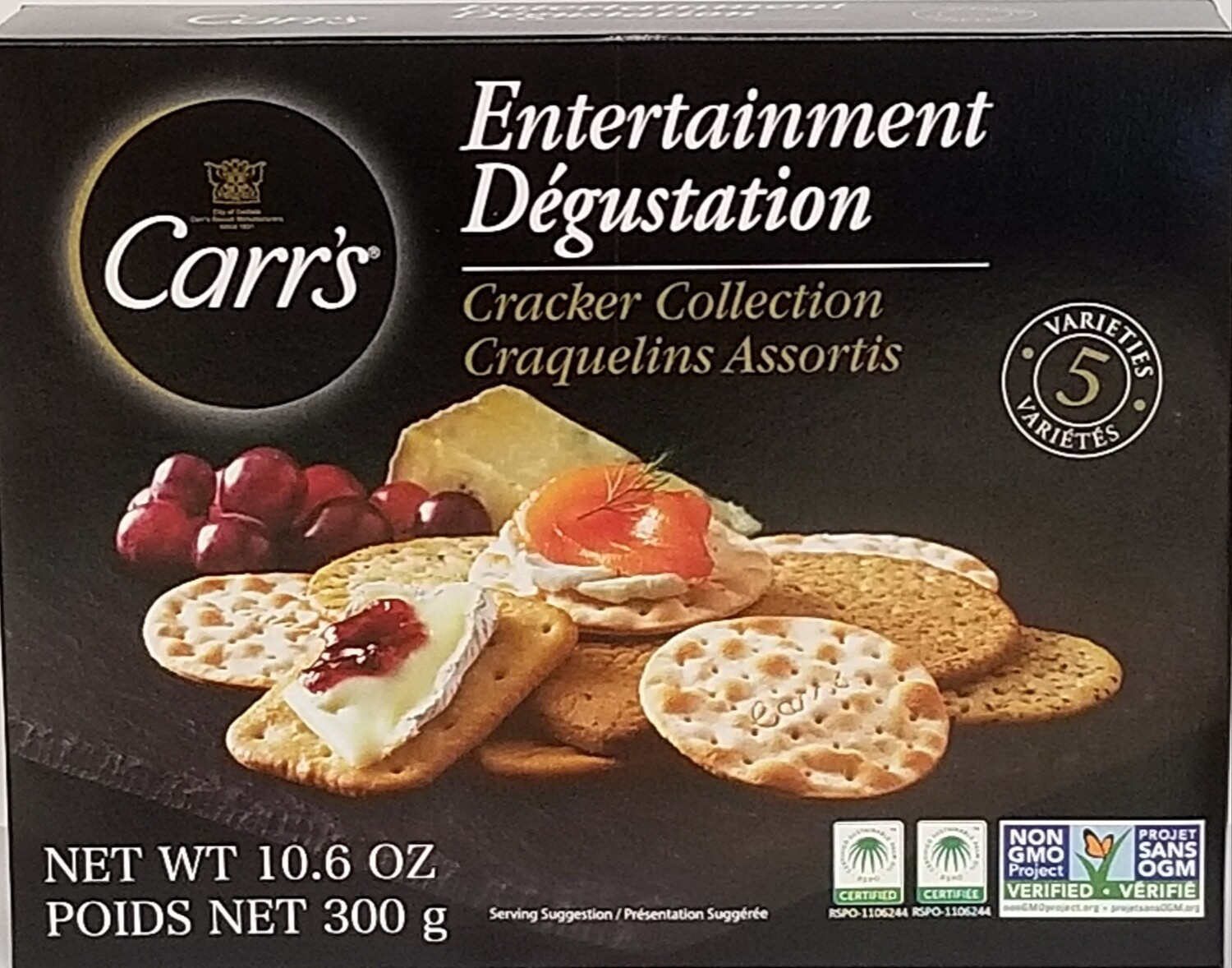Carr's Entertainment Pack Crackers - 300g