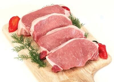 Stemmler's Boneless Pork Loin Chops - 3 Pack LOCAL
