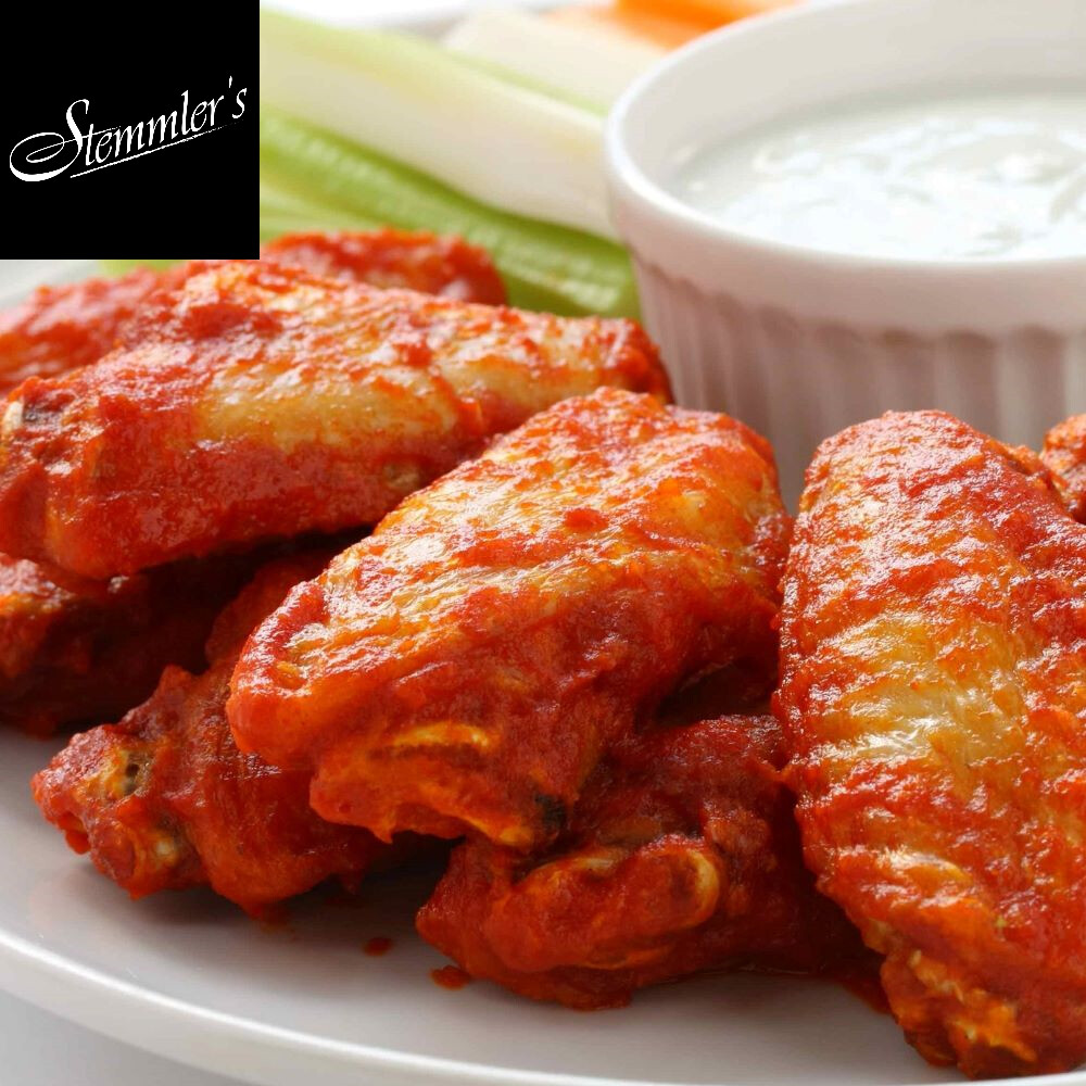 Stemmler's Hot Marinated Wings - LOCAL