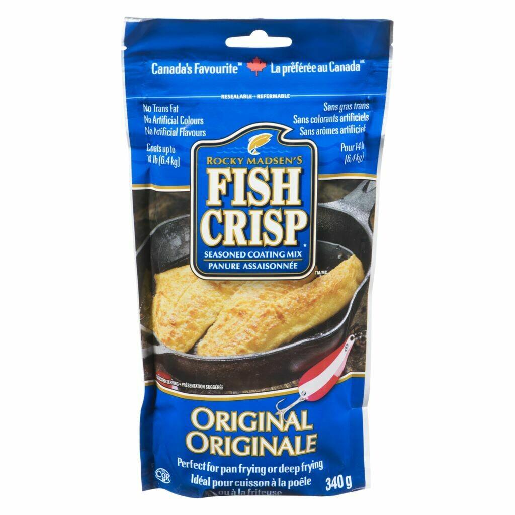 Fish Crisp Seasoning Original - 340g