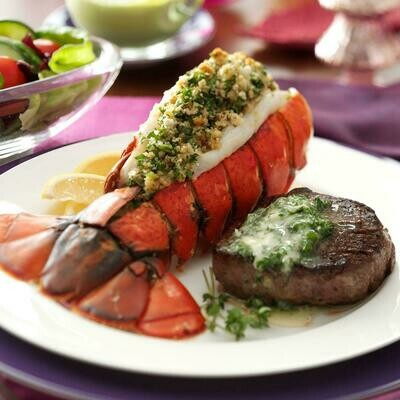 Surf & Turf Lobster Tail Meal Kit for 2!
