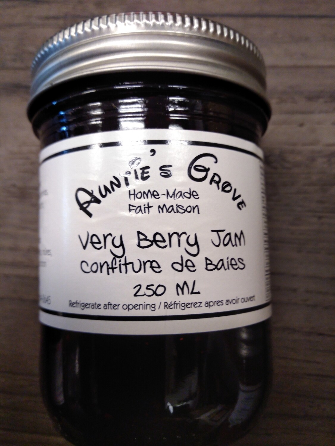 Auntie's Grove Very Berry Jam - Local