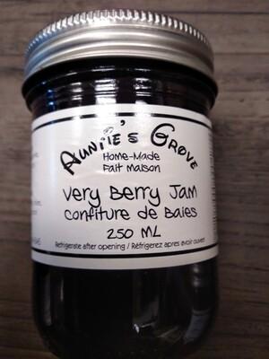 Auntie's Grove Very Berry Jam - Local