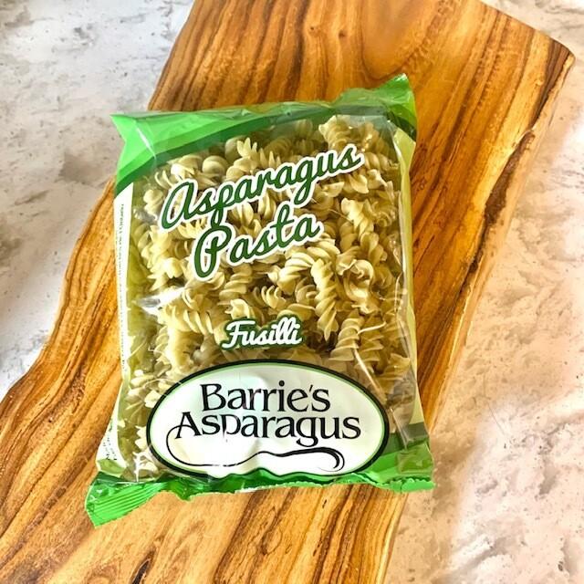 Asparagus Fusilli Pasta - Barrie's Asparagus Farm LOCAL - 340g