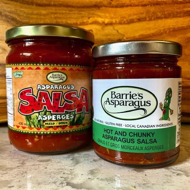 Mild Asparagus Salsa - Barrie's Asparagus Farm LOCAL - 430ml