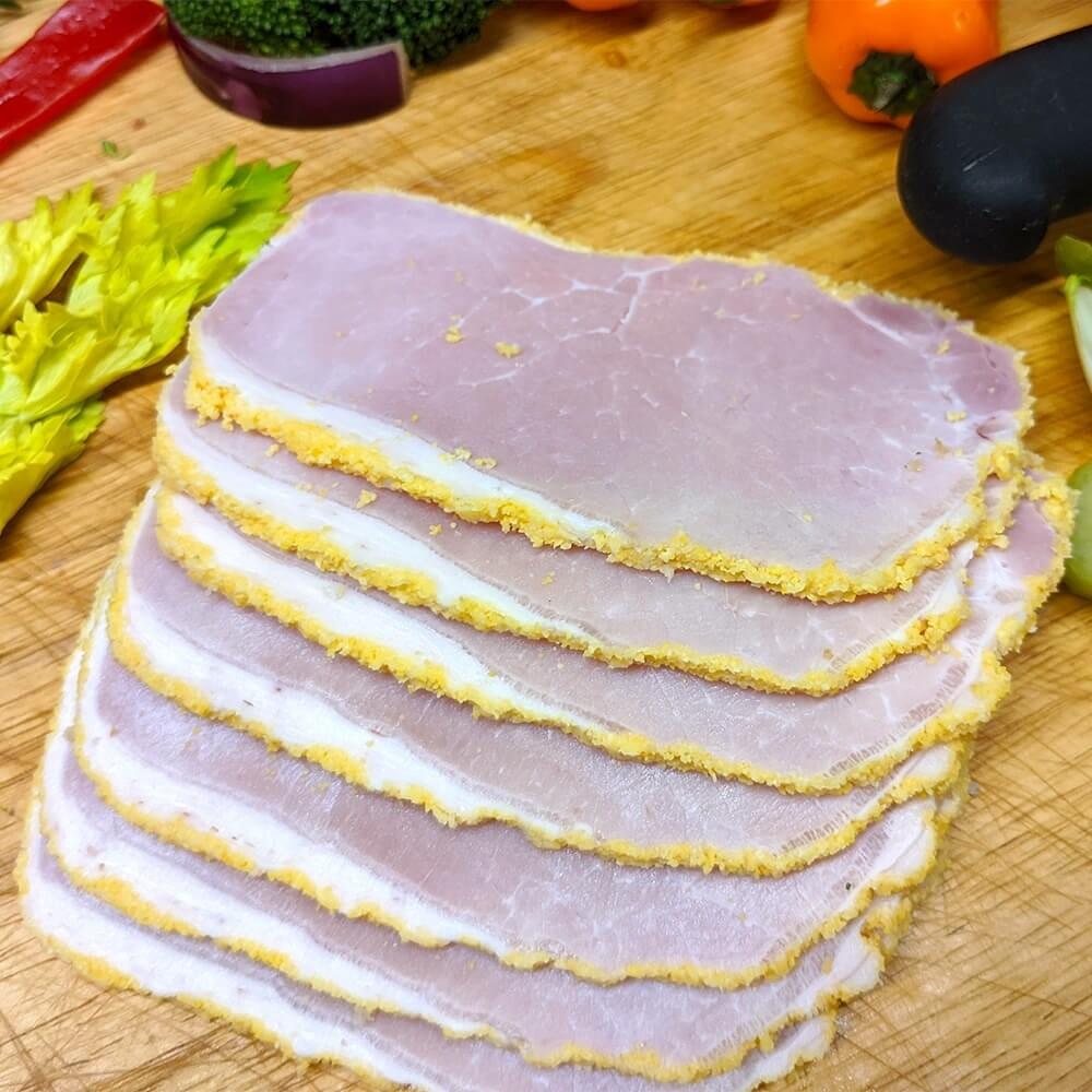 Stemmler's Peameal Bacon Sliced - 1lb LOCAL