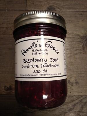 Auntie's Grove Raspberry Jam - Local