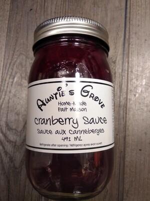 Auntie's Grove Cranberry Sauce - Local