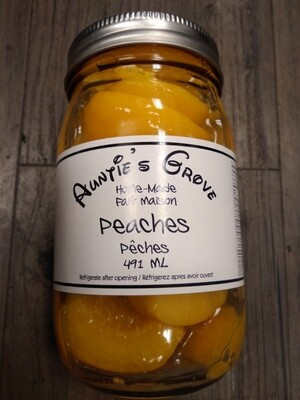 Auntie Groves Sweet Peaches 1L - Local