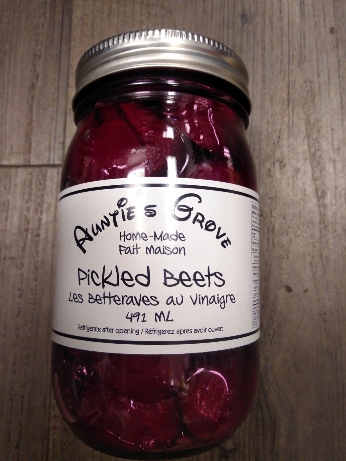 Auntie's Grove Pickled Beets - Local