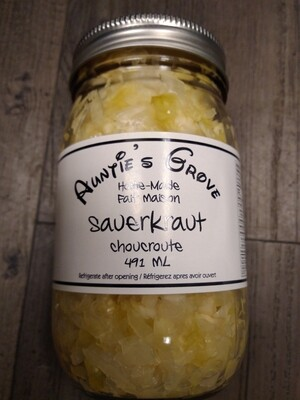 Auntie's Grove Sauerkraut - Local