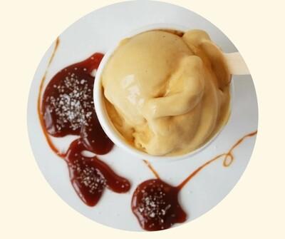 Four All Ice Cream - Salted Caramel Swirl LOCAL