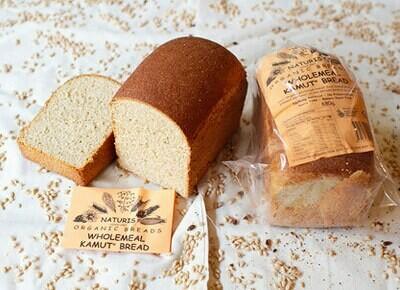 Organic Kamut Sourdough Bread Sliced - Grainharvest Breadhouse LOCAL