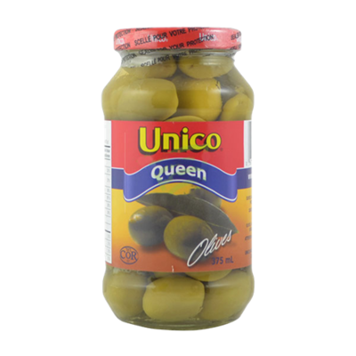 Unico Queen Olives - 375 ml