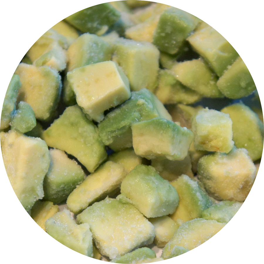 Frozen Avocado 1.25kg